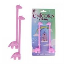 Novelty Unicorn Straws