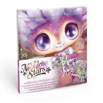 Nebulous Stars - Watercolor Postcard Set: Pink