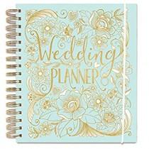 Duck Egg Blue & Gold - Wedding Planner - Wedding Book