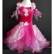 Whimsical Fairy Dress - Hot Pink - XSmall (1-2 years)