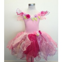 Wish fairy dress and wand - Pink