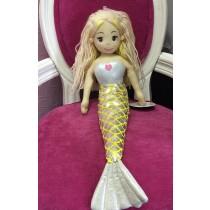 Mermaid Doll- 45cm - Yellow