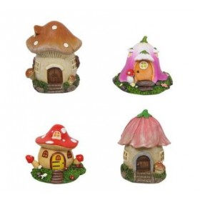 Mushroom Fairy Garden House