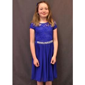 Erica Dress - Royal Blue