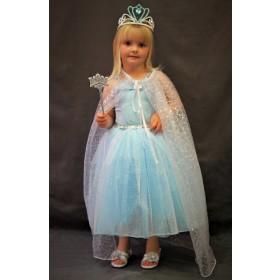Pink Poppy Princess Sparkle Dress - Blue and Silver
