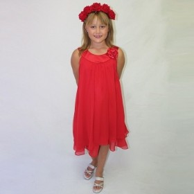 Ashleigh Dress - Red - RRP: $79