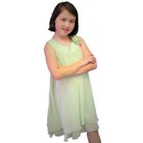 Ashleigh Dress - Sage Green
