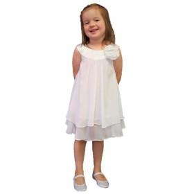 Ashleigh Dress - White - RRP: $79