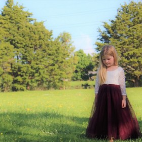 Aubry Dress - Burgundy