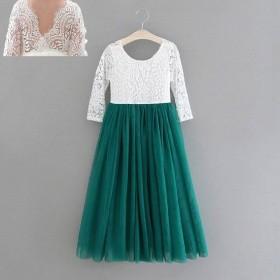 Aubry Dress - Forrest Green