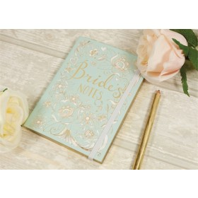 Bride's Notes Duck Egg Blue A6 Journal