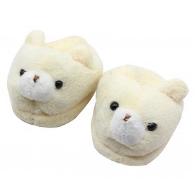 "18"" Doll Shoes - Bear Slippers"