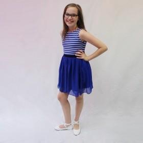 Bella Dress - Royal Blue - Size 11/12 *FINAL STOCK*