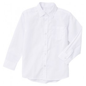 Boys Dress Shirts - White