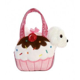 Fancy Pals Plush Sweets Pink Dog Pet Carrier