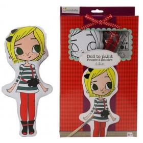 Avenue Mandarine - Dolls to Paint - Lilie