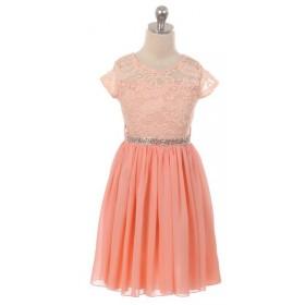 Erica Dress - Peach