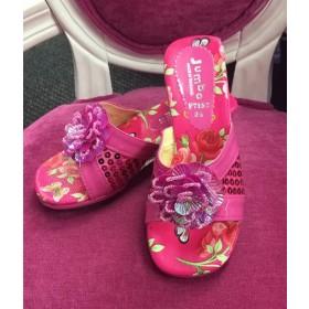 Princess Heels - Hot Pink (Style - F7152)