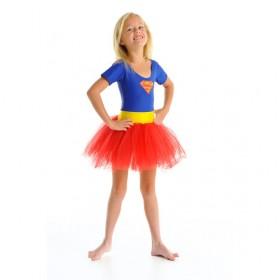 Fairy Girls Supergirl Tutu Dress (Medium)