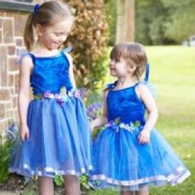 Flower Fairy - Blue
