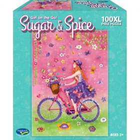 Sugar and Spice - Girl on the go! 100pc Puzzle