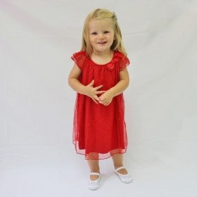 Holly Dress - Red - Size 6