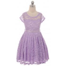 Isabella Dress - Lilac