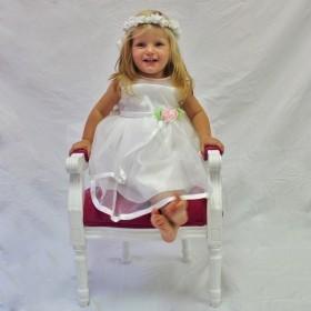Isla Dress - White - 24M *FINAL STOCK