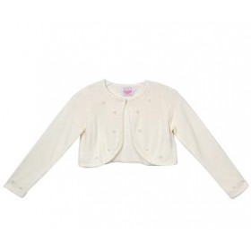 Knit Pearl Cardigan - Ivory