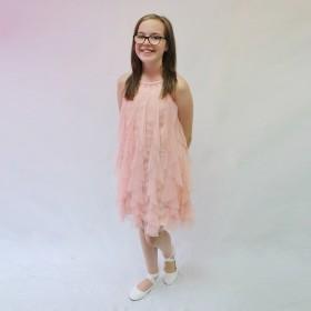 Laura Dress - Blush