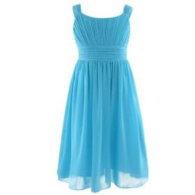 Leah Dress - Aqua