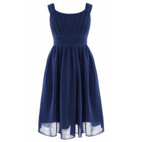 Leah Dress - Navy