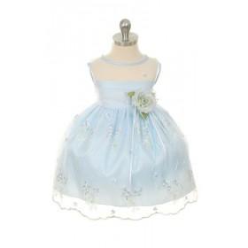 Lisa Dress - Baby Blue - Size 1/2 *FINAL STOCK