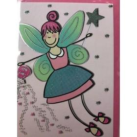 Mini Wishing Fairy Card