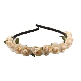 Mini Flower Headband - Ivory