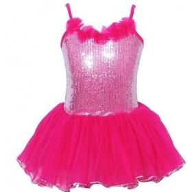 Pink Poppy Paris Diva Sparkle Dress - Hot Pink - Size 5/6