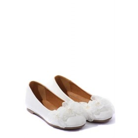 Pearl flats - White