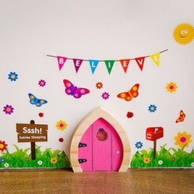 Magical Fairy Door - Pink