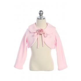Fleece Bolero Jacket - Pink