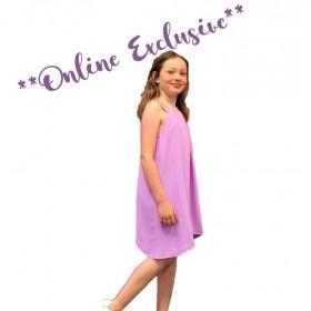 Polly Dress - Lilac - Size 10