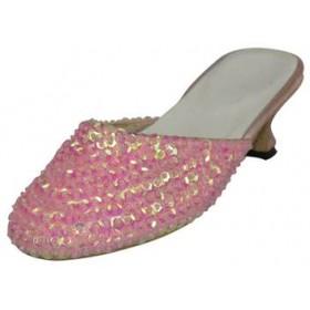 Sequins Princess Shoes - Pink