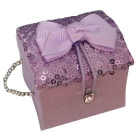 Tooth Fairy/Jewellery Box - Lilac