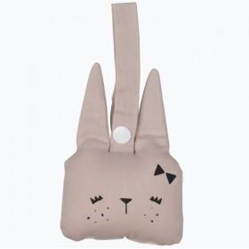 Mauve - Animal Rattle Bunny
