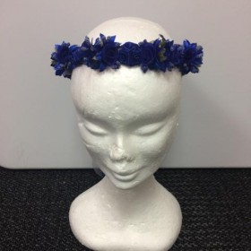 Flower Garland - Royal Blue