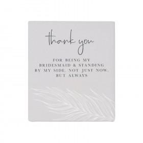 Thank you Bridesmaid Verse