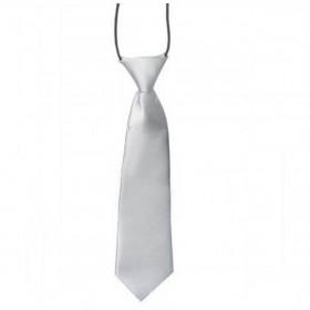 Kids Tie - Silver