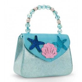 Under the Sea Mermaid Hard Handbag - Blue