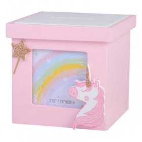 Unicorn Money Box and Photoframe