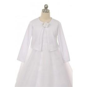 Knit Bolero - White
