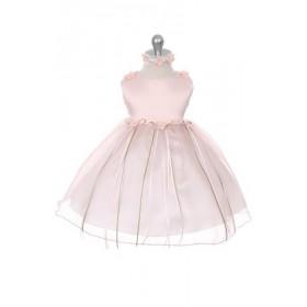 Zahara Dress - Dusty Rose